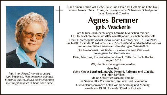 Agnes Brenner