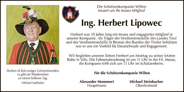 Herbert Lipowec
