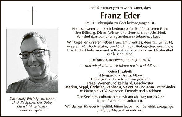 Franz Eder (Familie)