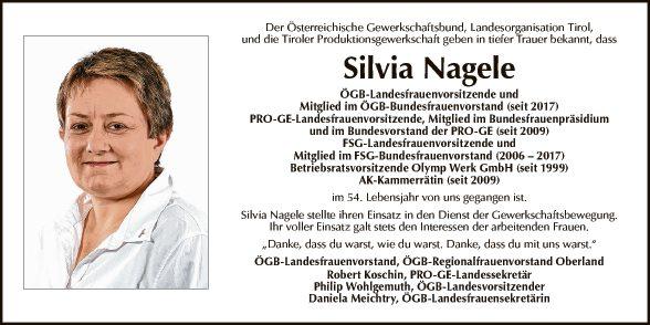 Silvia Nagele