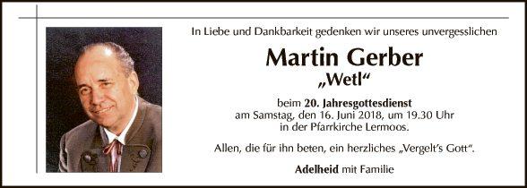 Martin Gerber