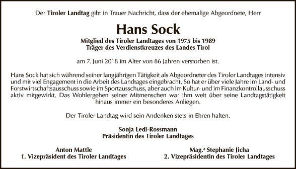 Hans Sock