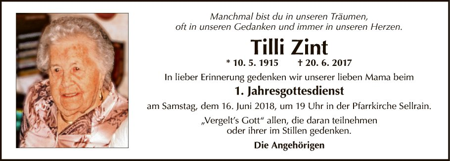Tilli Zint