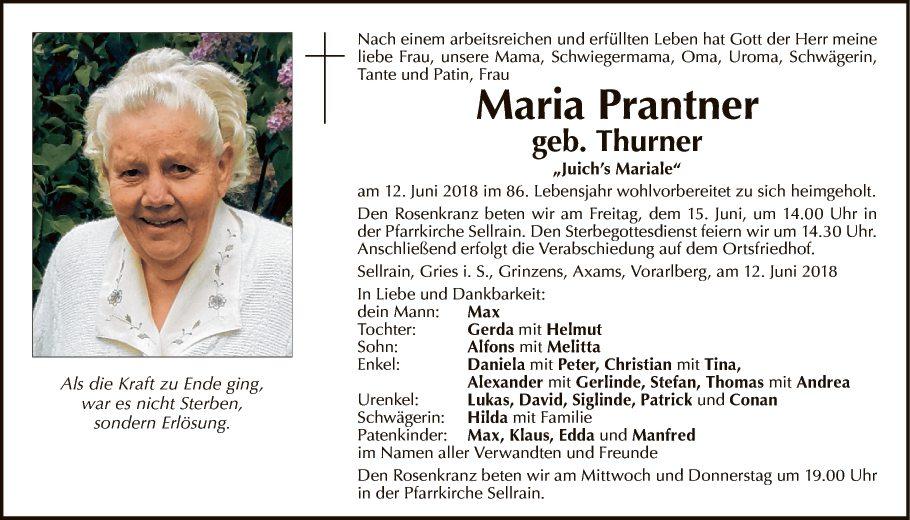 Maria Prantner