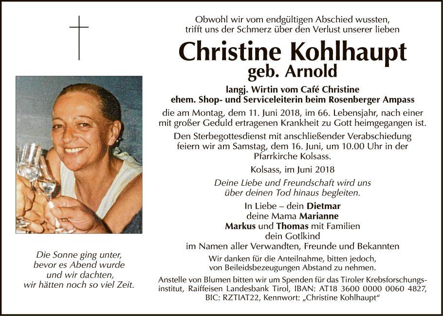 Christine Kohlhaupt