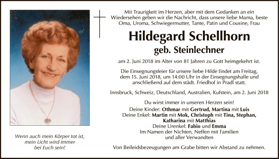 Hildegard Schellhorn