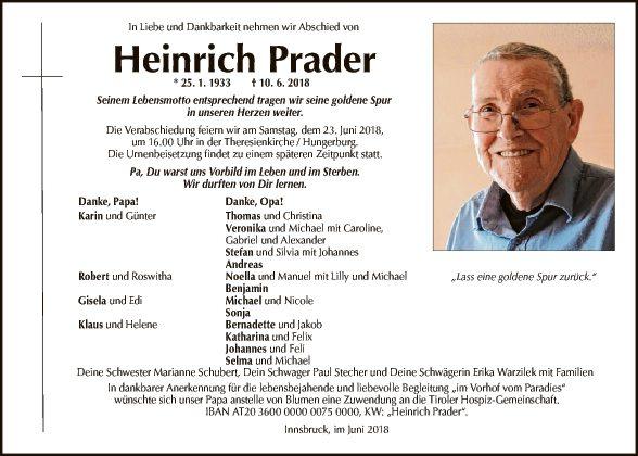 Heinrich Prader