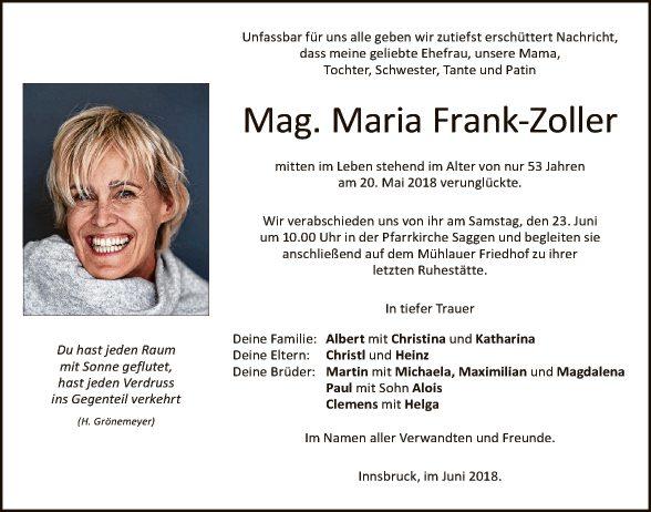 Mag. Maria Frank-Zoller