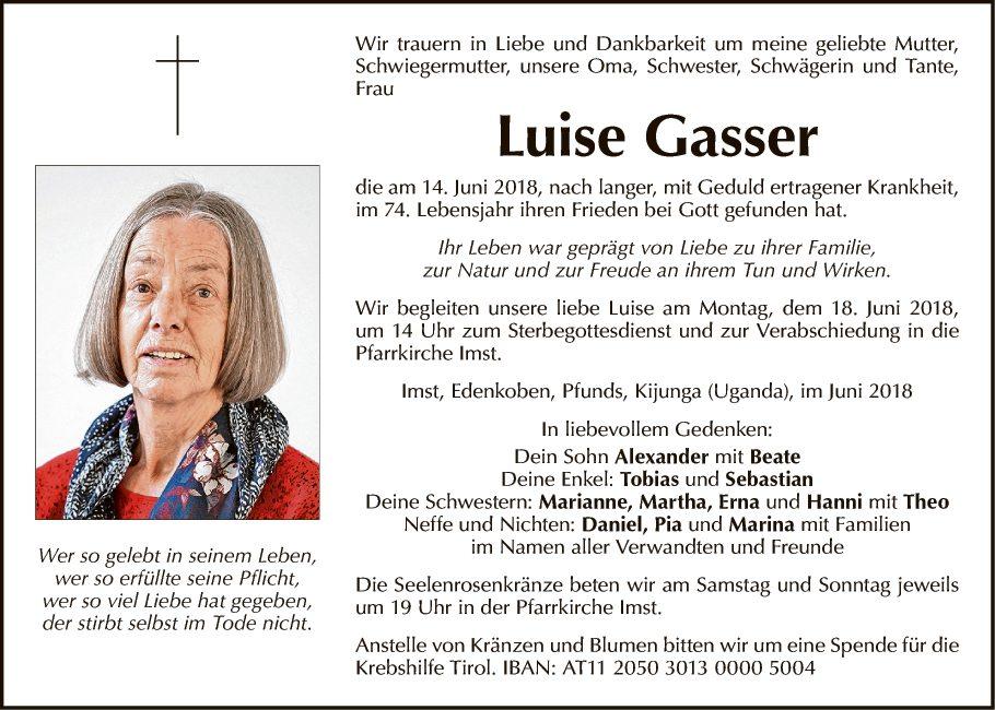 Luise Gasser