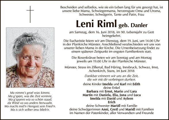 Leni Riml