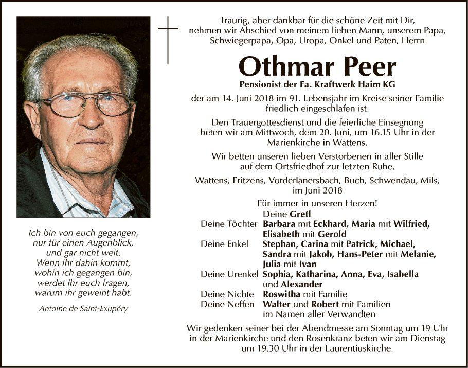 Othmar Peer