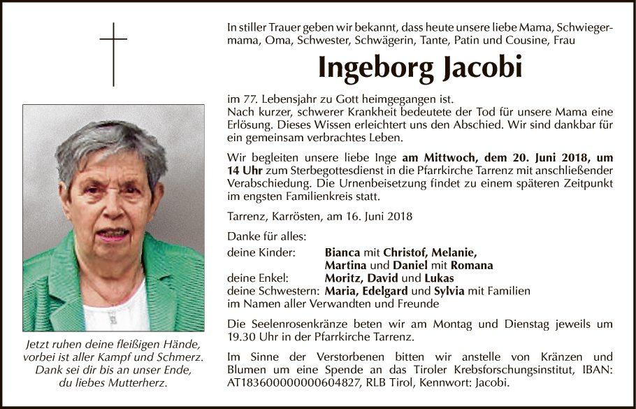 Ingeborg Jacobi