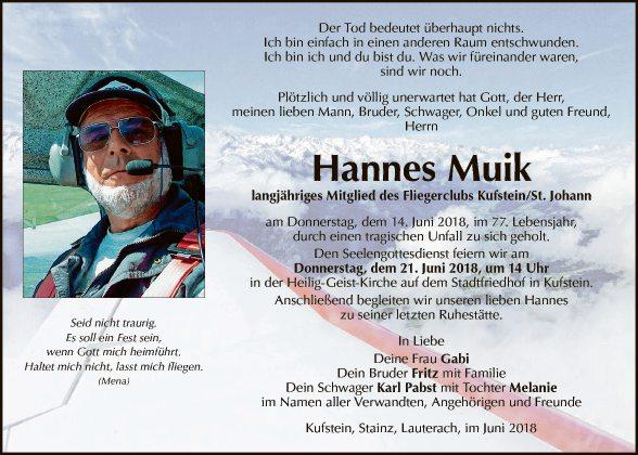 Hannes Muik