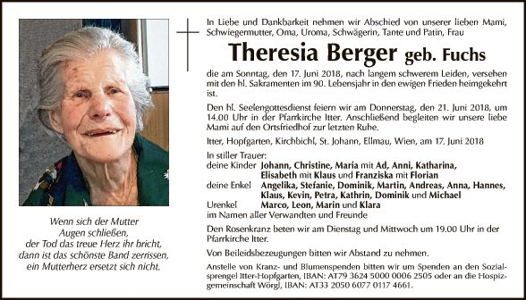 Theresia Berger