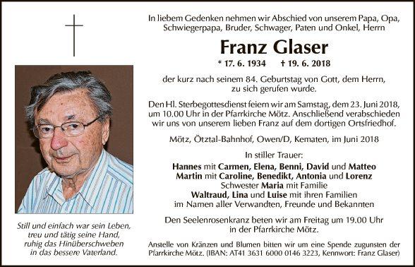 Franz Glaser