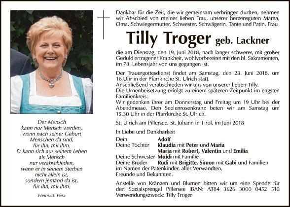 TIlly Troger