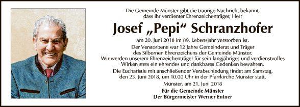 Josef Schranzhofer