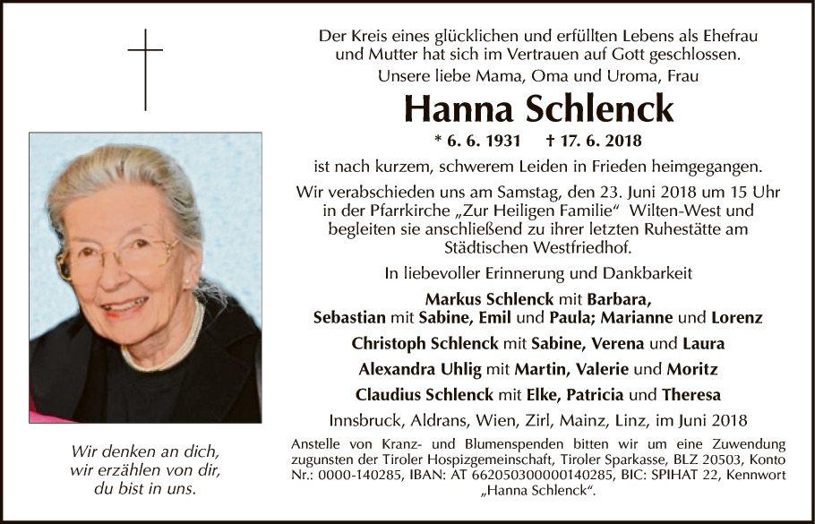 Hanna Schlenck