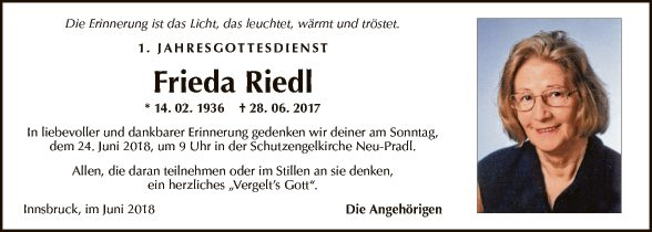 Frieda Riedl