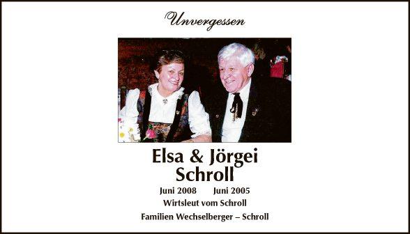 Elsa & Jörgei Schroll