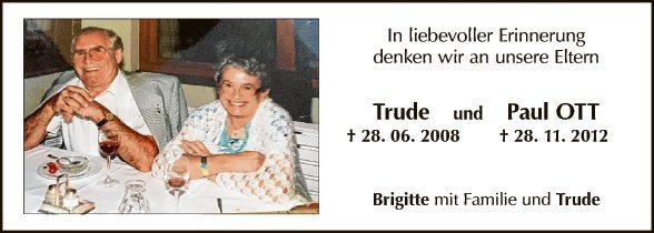 Trude und Paul Ott