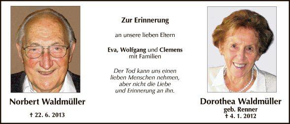 Norbert und Dorothea Waldmüller