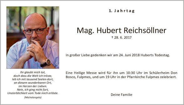 JT Hubert Reichsöllner
