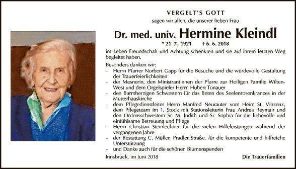 Hermine Kleindl