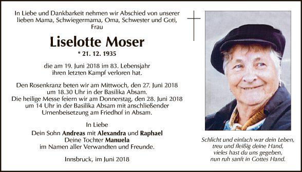 Liselotte Moser