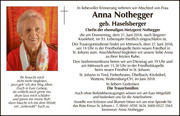 Anna Nothegger