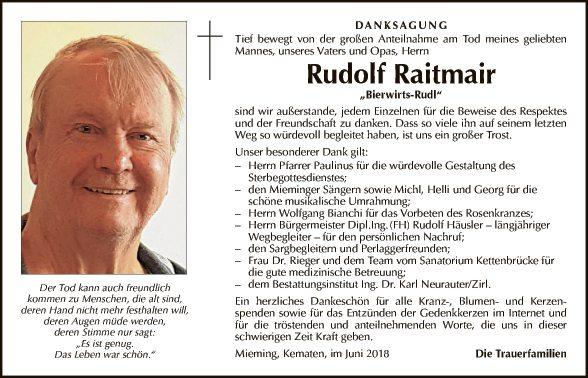 Rudolf Raitmair