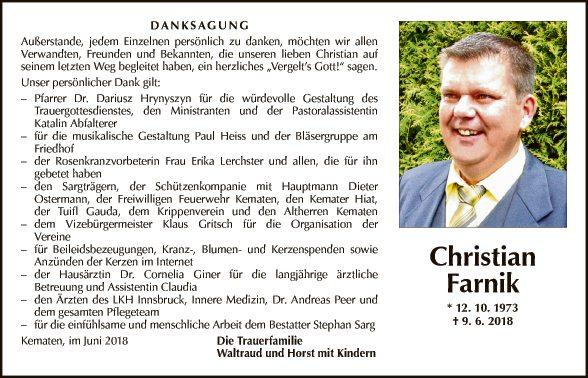 Chrisian Farnik