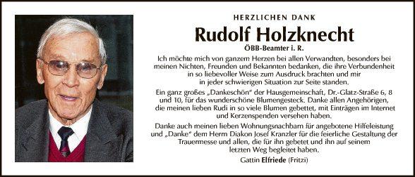 Rudolf Holzknecht