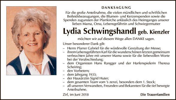 Lydia Schwingshandl