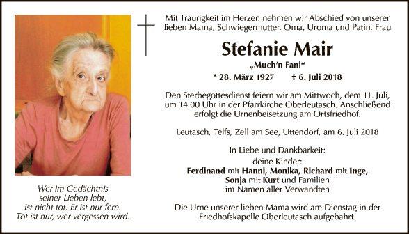 Stefanie Mair