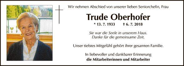 Trude Oberhofer