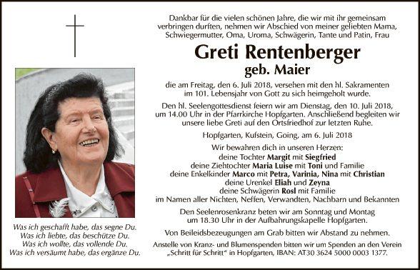 Greti Rentenberger