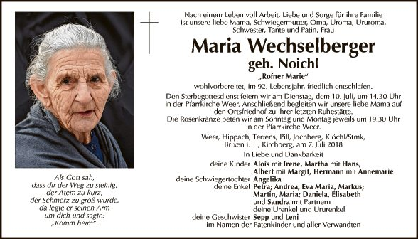 Maria Wechselberger