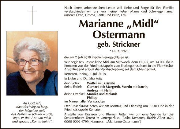 Marianne Ostermann