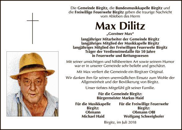 Max Dilitz