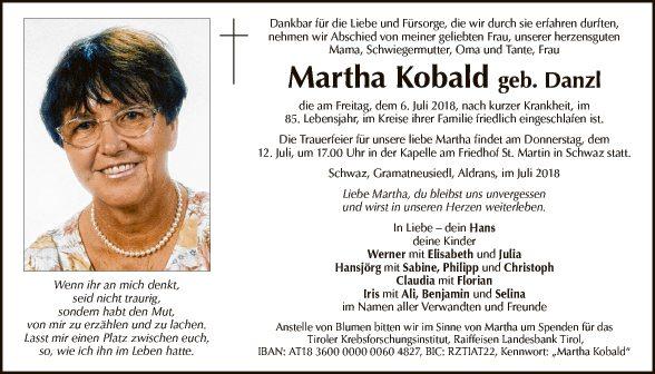 Martha Kobald