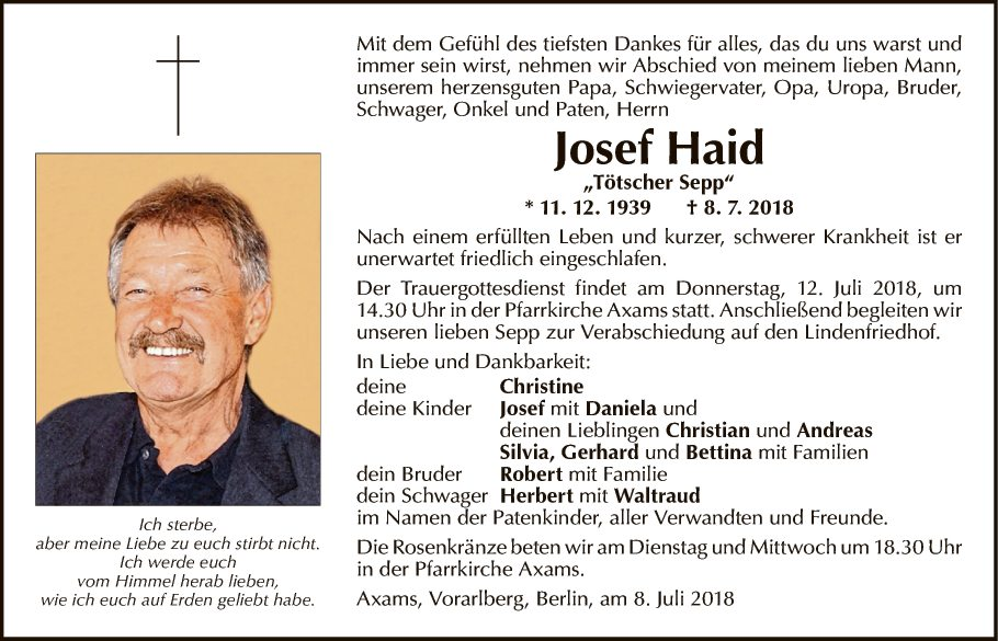 Josef Haid