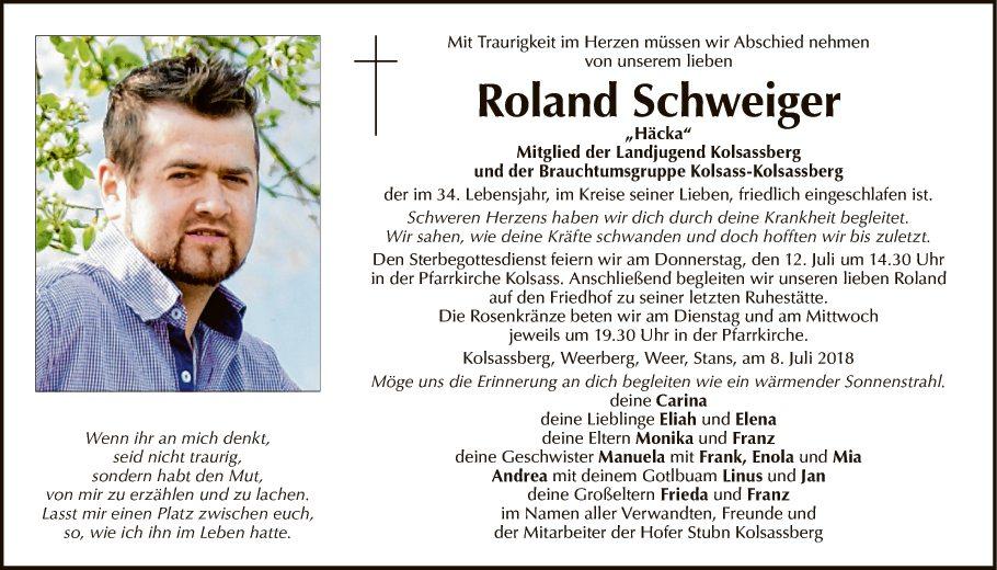 Roland Schweiger