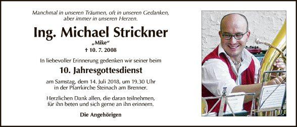 Michael Strickner