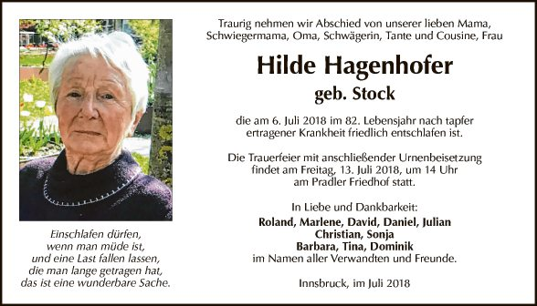 Hildegard Hagenhofer