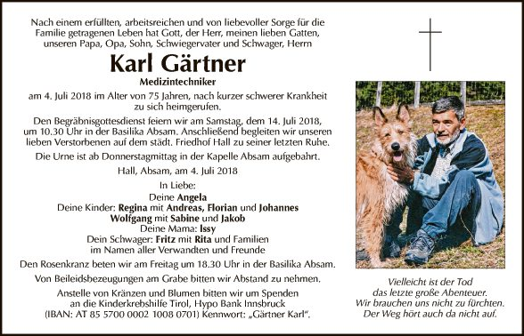 Karl Gärtner