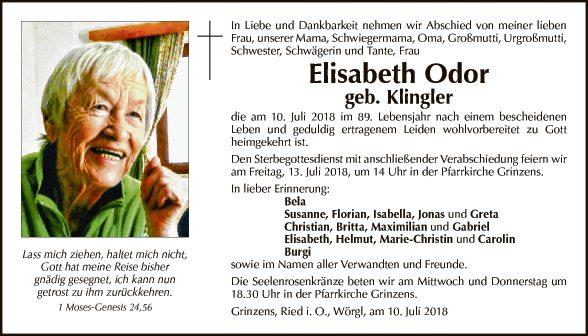 Elisabeth Odor