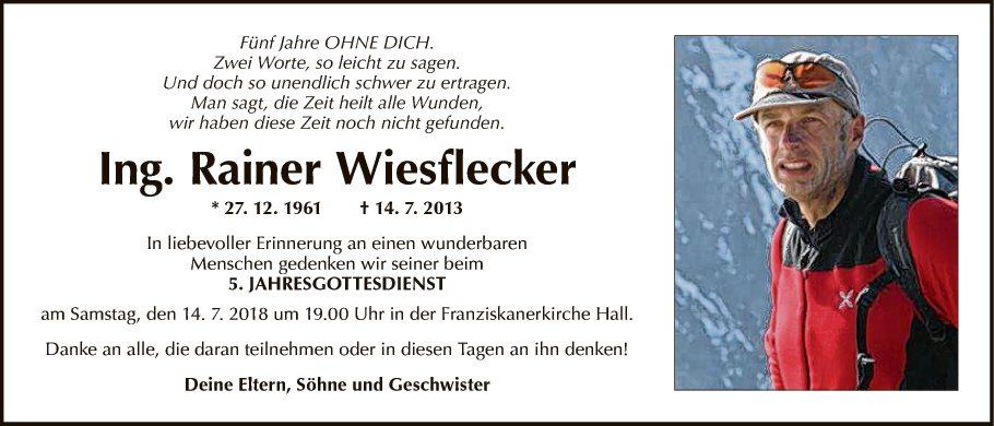 Ing. Rainer Wiesflecker