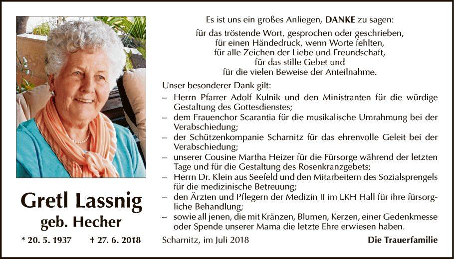 Gretl Lassnig