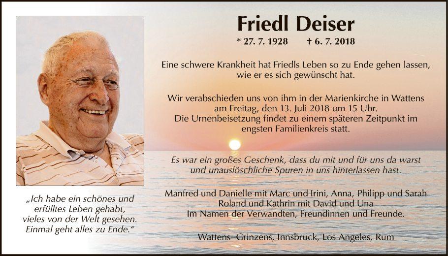 Friedl Deiser